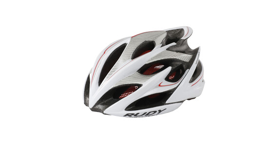 Rudy Project Windmax Helm white/silver shiny